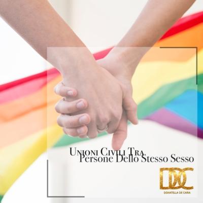 Unioni civili tra persone dello stesso sesso: istruzioni per l'uso